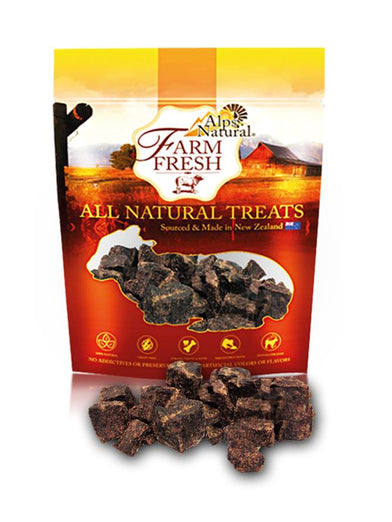 Alps Natural Farm Fresh Beef Nuggets Dog Treat 80g