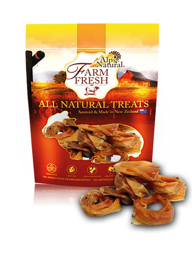 Alps Natural Farm Fresh Veal Chewies Dog Treat 80g