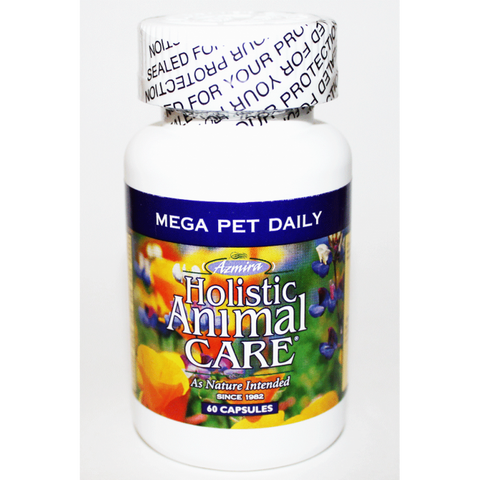 Azmira Mega Pet Daily Supplement for Dogs & Cats 60ct