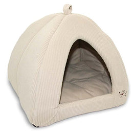 Best Pet Supplies Medium Corduroy Tent For Pets