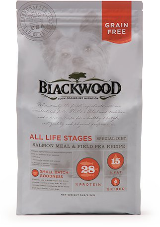 Blackwood Grain-Free Salmon Meal & Field Pea Dry Dog Food 5lb