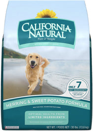 California Natural Herring & Sweet Potato Formula Dry Dog Food