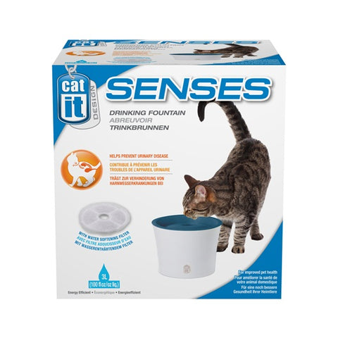 Catit Design Senses 1.0 Drinking Fountain 3L - Kohepets