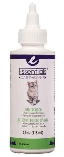 Essentials Care Ear Cleaner For Cats 118 ml