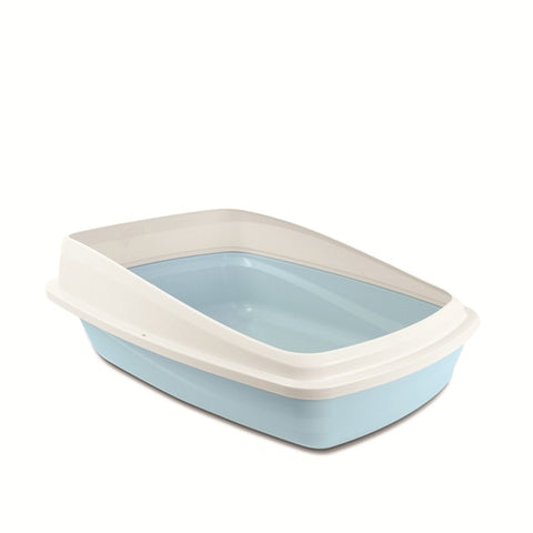 Cat Love Litter Pan With Removable Rim Large