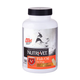 Nutri-Vet Fish Oil Softgels For Dogs 100ct