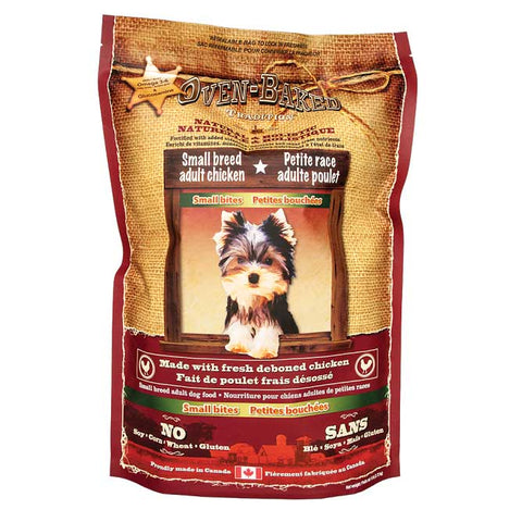 Oven-Baked Tradition Adult Chicken Small Bites Dry Dog Food 2.2lb - Kohepets