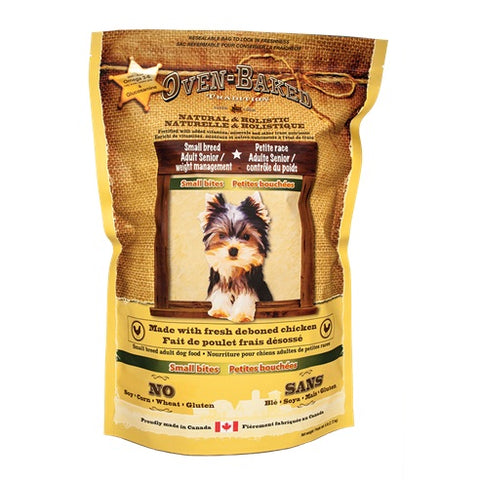 Oven-Baked Tradition Senior & Weight Control Small Bites Dry Dog Food 2.2lb - Kohepets
