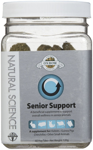 Oxbow Natural Science Senior Support For Small Animals 60 tabs - Kohepets