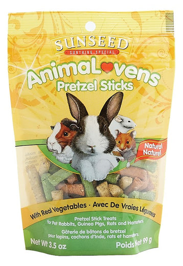 Sunseed AnimaLovens Pretzel Sticks For Small Animals 3.5oz - Kohepets