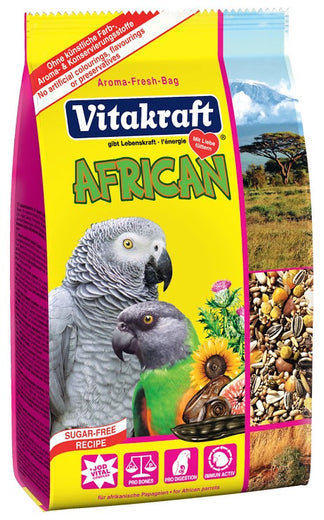 Vitakraft Menu African Grey Parrot Bird Food 750g - Kohepets