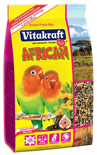 Vitakraft Menu African Lovebird Bird Food 750g - Kohepets
