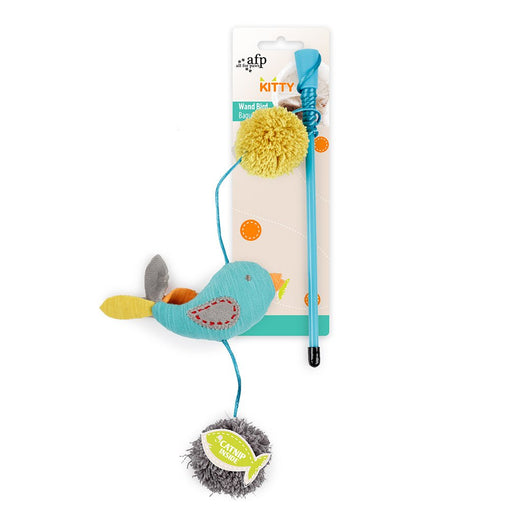 All For Paws Kitty Wand Bird Cat Toy - Kohepets