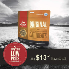 20% OFF: Orijen Original Freeze Dried Cat Treats 35g