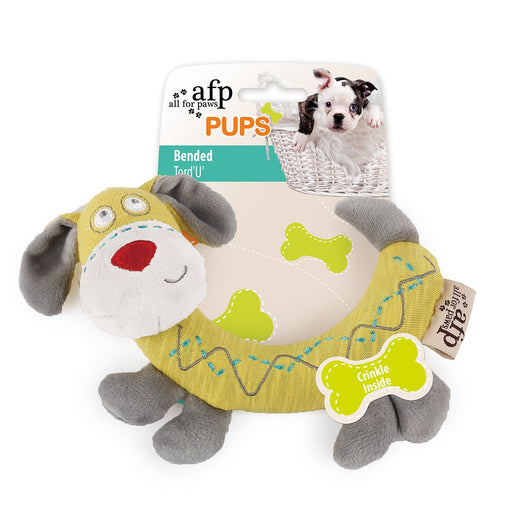 All For Paws Pups Bended Dog Toy - Kohepets