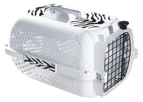 Catit Style Profile Voyageur 200 Cat Carrier - White Tiger