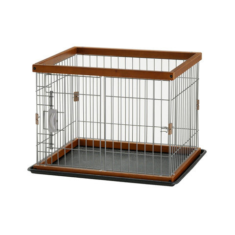 Richell 2-Way Pet Pen Brown