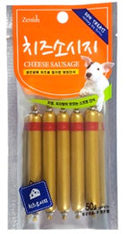 Bow Wow Cheese Sausage Dog Treat 50g