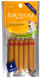 Bow Wow Chicken Sausage Dog Treat 50g
