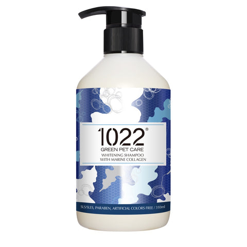 1022 Whitening Shampoo For Dogs - Kohepets