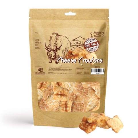 33% OFF: Absolute Bites Himalayan Yak Cheese Croutons Dog Treats 90g - Kohepets