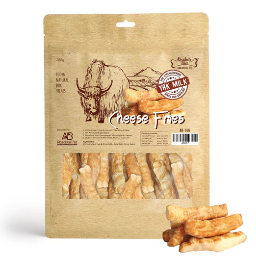 Absolute Bites Himalayan Yak Cheese Fries Dog Treats 280g