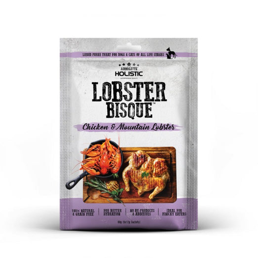 Absolute Holistic Bisque Chicken & Mountain Lobster Cat & Dog Treats 60g
