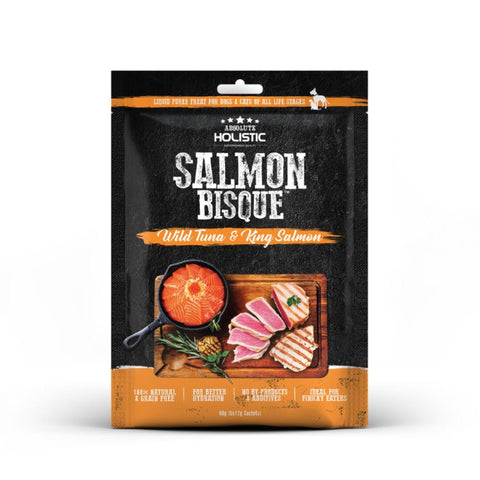 Absolute Holistic Bisque Wild Tuna & King Salmon Cat & Dog Treats 60g