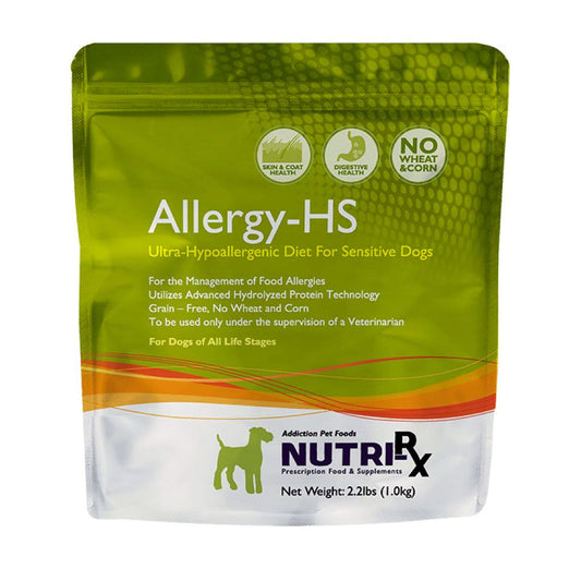 Addiction Nutri-RX Allergy-HS Diet Dry Dog Food 2.2lb - Kohepets