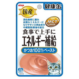 Aixia Kenko Energy Skipjack Tuna Paste Pouch Cat Food 40g