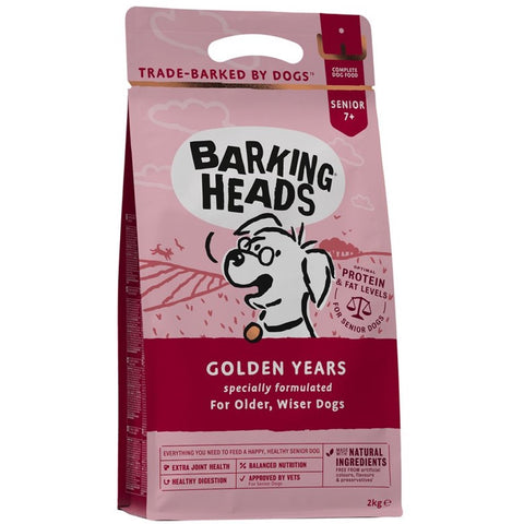 Barking Heads Golden Years Dry Dog Food