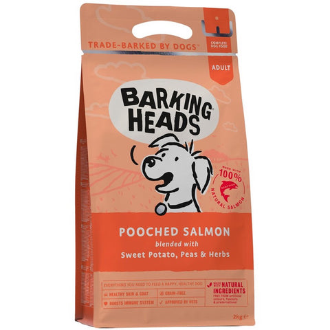 Barking Heads Pooched Salmon Dry Dog Food