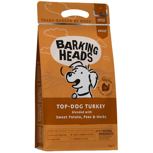Barking Heads Top Dog Turkey Grain Free Dry Dog Food