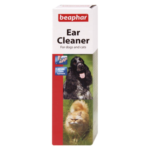 Beaphar Ear Cleaner For Cats & Dogs 50ml