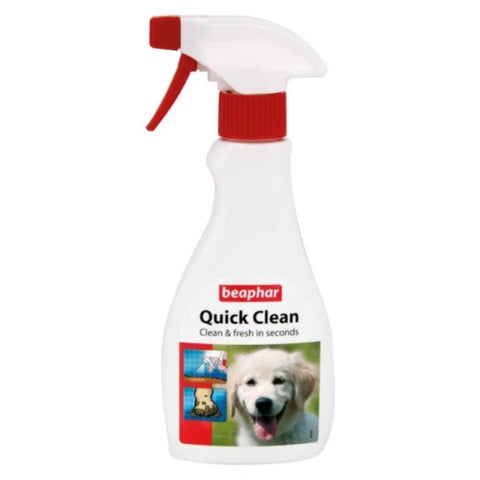 15% OFF (Exp 12 Mar): Beaphar Quick Clean Spray For Dogs 250ml - Kohepets