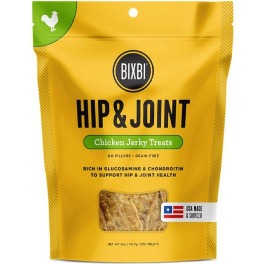 '25% OFF (Exp 4 Jun)': Bixbi Hip & Joint Chicken Jerky Grain-Free Dog Treats 142g - Kohepets