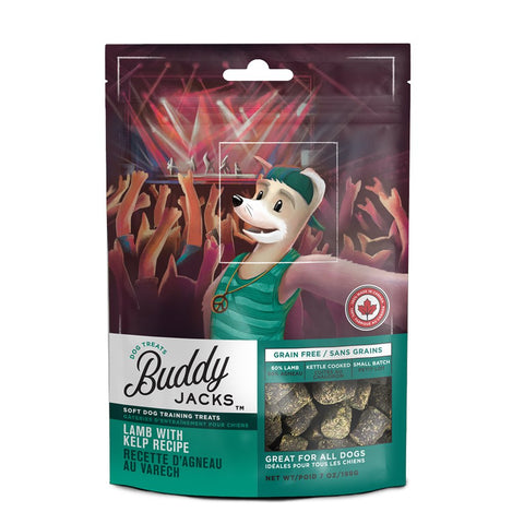 30% OFF: Canadian Jerky Buddy Jack's Lamb with Kelp Dog Treats 198g - Kohepets