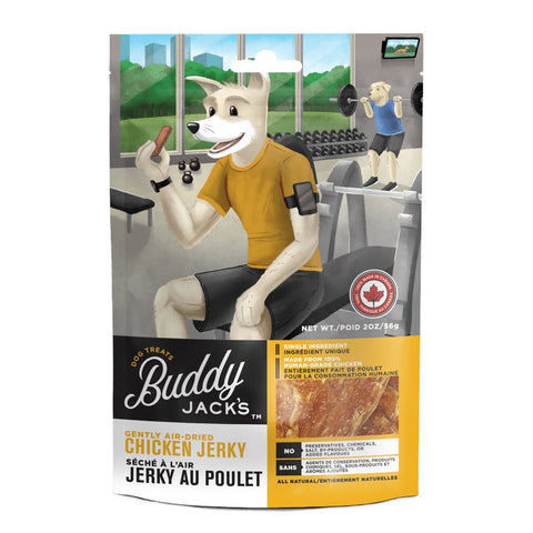 Canadian Jerky Buddy Jack's Chicken Jerky Air-Dried Dog Treats 56g - Kohepets