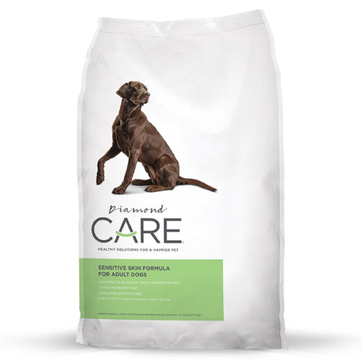 15% OFF: Diamond Care Sensitive Skin Formula Grain-Free Dry Adult Dog Food