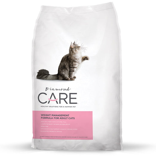 Diamond Care Weight Management Grain-Free Dry Adult Cat Food 6lb