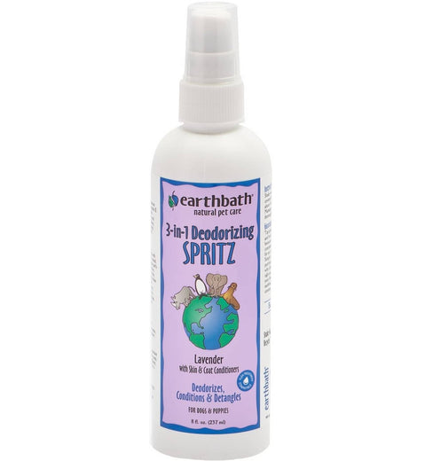 Earthbath  3 in 1 Lavender Spritz for Dogs 8oz - Kohepets