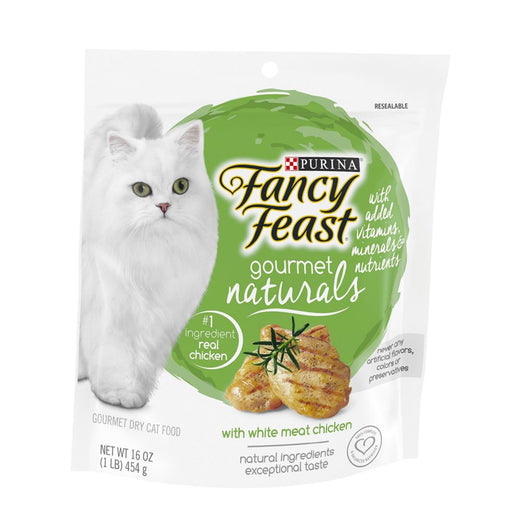 Fancy Feast Gourmet Naturals White Meat Chicken Adult Dry Cat Food - Kohepets