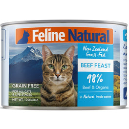 Feline Natural Beef Feast Grain-Free Canned Cat Food 170g