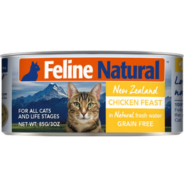 Feline Natural Chicken Feast Grain-Free Canned Cat Food 85g