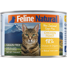 Feline Natural Chicken Feast Grain-Free Canned Cat Food 170g