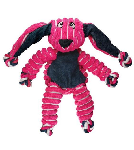 Kong Floppy Knots Bunny Dog Toy - Kohepets