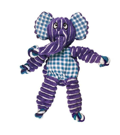 Kong Floppy Knots Elephant Dog Toy - Kohepets