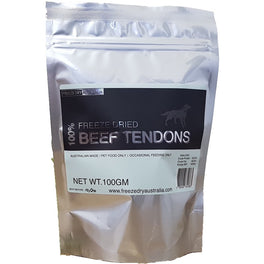 BUY 2 GET 1 FREE: Freeze Dry Australia Beef Tendons Dog Chew Treats 100g