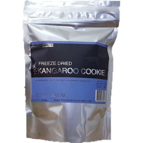 BUY 2 GET 1 FREE: Freeze Dry Australia Kangaroo Cookie Dog Treats 100g