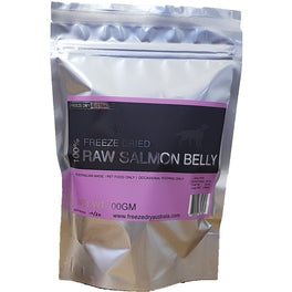 BUY 2 GET 1 FREE: Freeze Dry Australia Raw Salmon Belly Cat & Dog Treats 100g